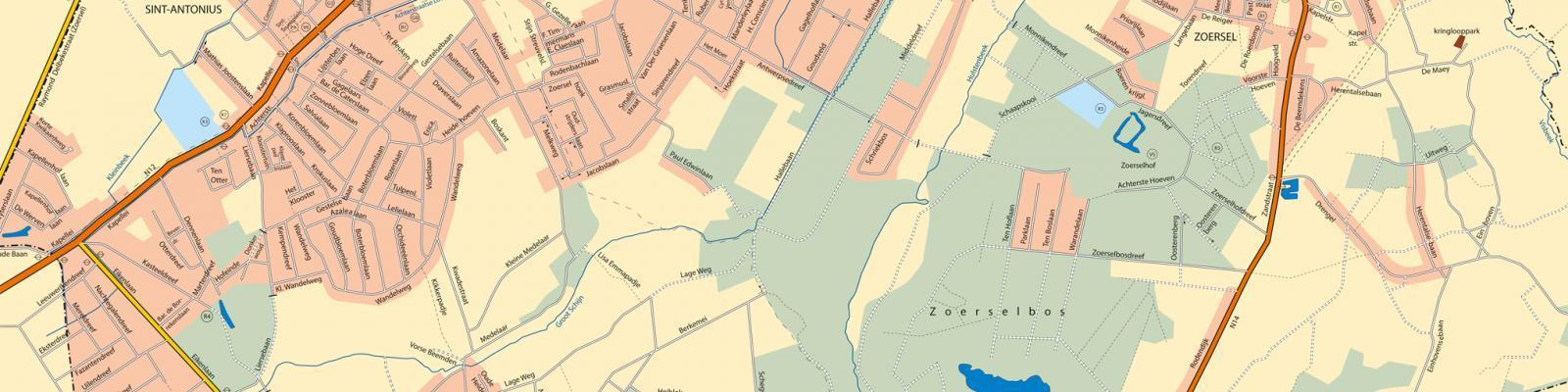 deel van grondplan Zoersel
