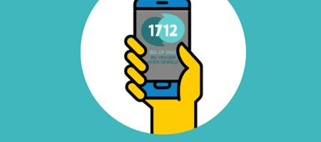 zoek steun of hulp bij 1712
