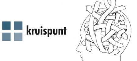 logo en tekening Kruispunt Voorkempen