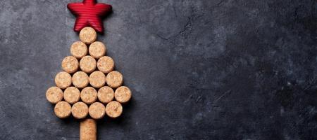kerstboom van kurken stoppen