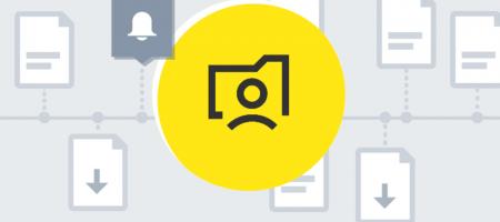 de knop Mijn Burgerprofiel staat prominent in het geel op de voorgrond