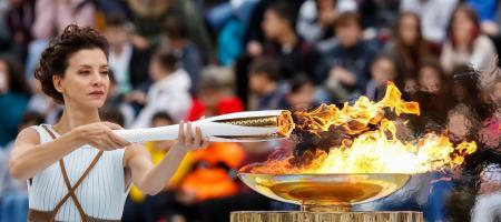 aansteken olympisch vuur