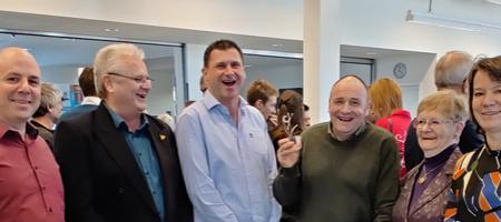 Leo Van Rossum ontvangt de cultuurprijs