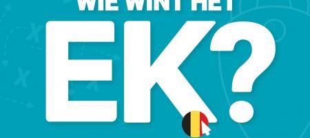 wie wint het EK? Win zalige prijzen met de gratis pronostiek