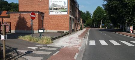 fietspad De Bergen