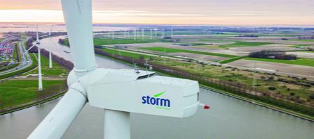windmolen van firma Storm