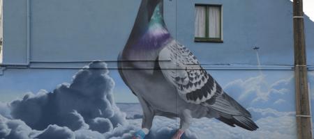 street art van het Pigeon Center