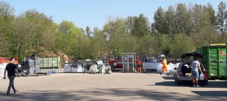 zicht recyclagepark