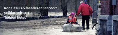 Rode Kruis-Vlaanderen lanceert 'helpen helpt'