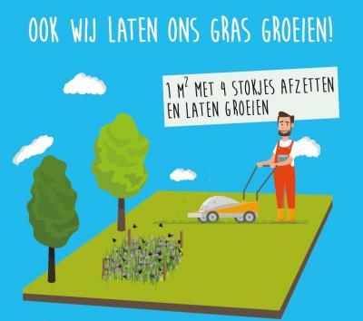 campagnebeeld Bye Bye Grass