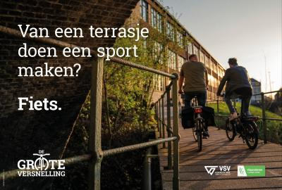 campagnebeeld 'fietscampagne 2021'