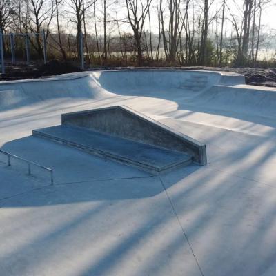 skatepark Turtle yard met verschillende uitdagingen